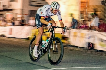 Marcus Burghardt bei der Bruckmühler Radsportnacht 2017