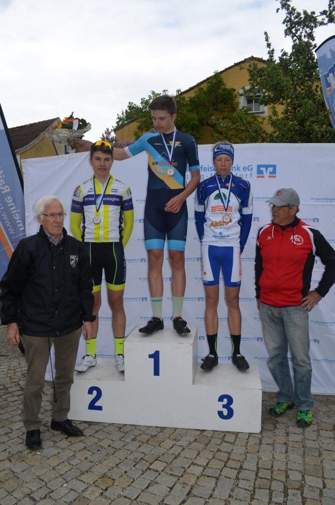 Siegerehrung Junioren Neuötting 2019